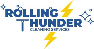 Logo for Rolling Thunder Cleaning Services