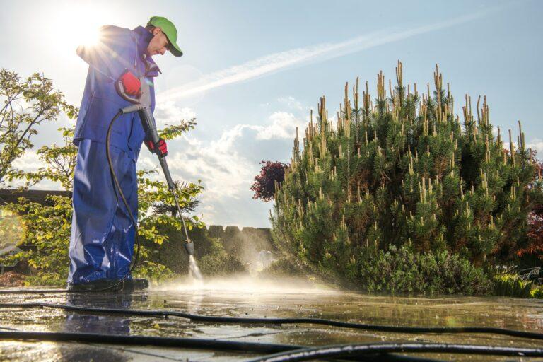 Power washing Garden Paths Avon Lake